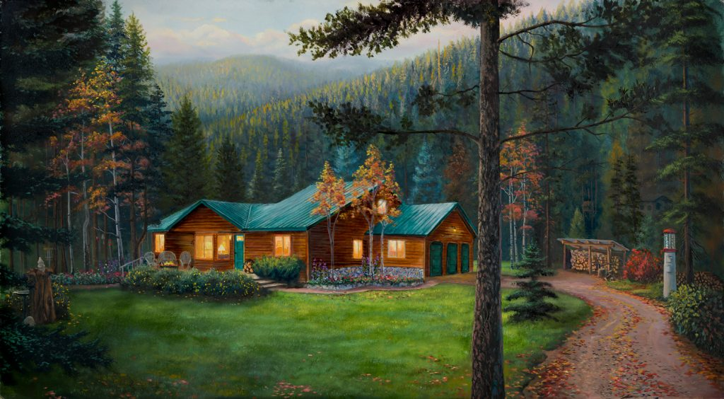 Alberton Cabin Summer