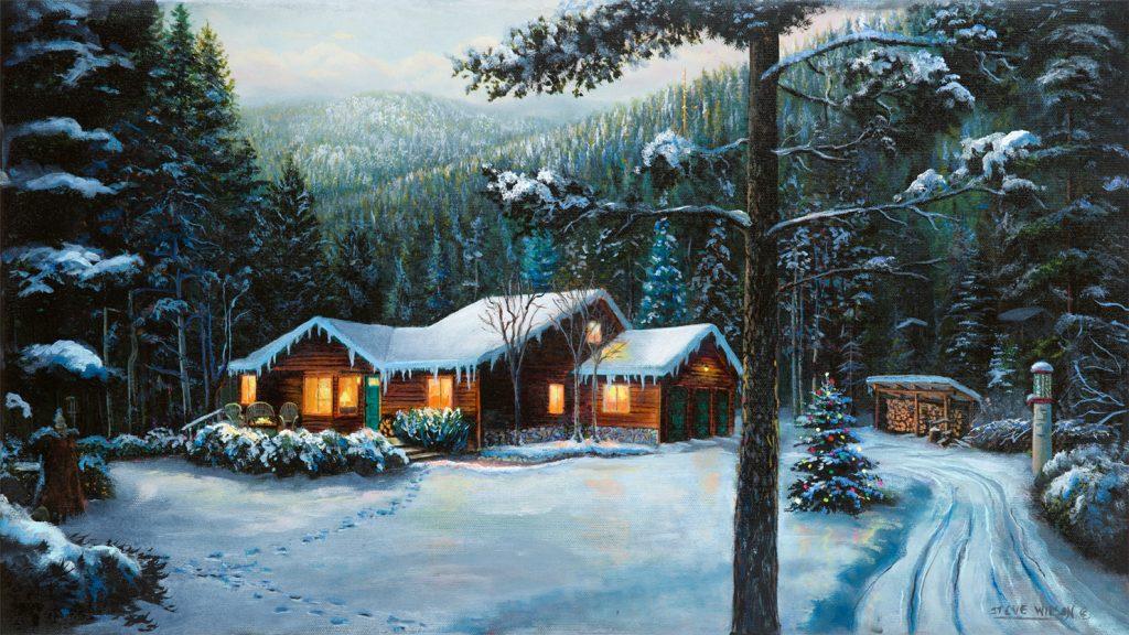 Alberton Cabin Winter