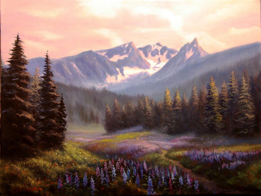 Trapper Peak Springtime